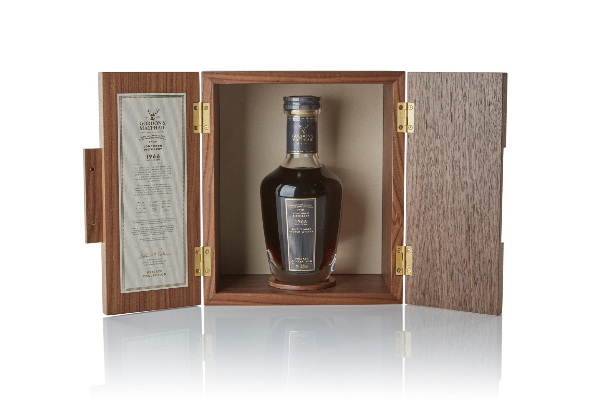 View full screen - View 1 of Lot 99. Longmorn Gordon & MacPhail 53 Year Old Private Collection 46.0 abv 1966 .