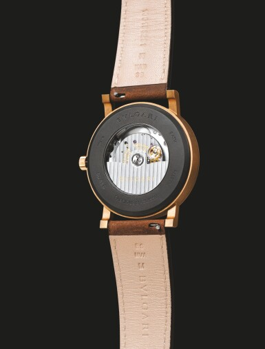 BULGARI | SOLOTEMPO, BRONZE AND TITANIUM WRISTWATCH WITH DATE, CIRCA 2018 [SOLOTEMPO, MONTRE EN BRONZE ET TITANE AVEC DATE]