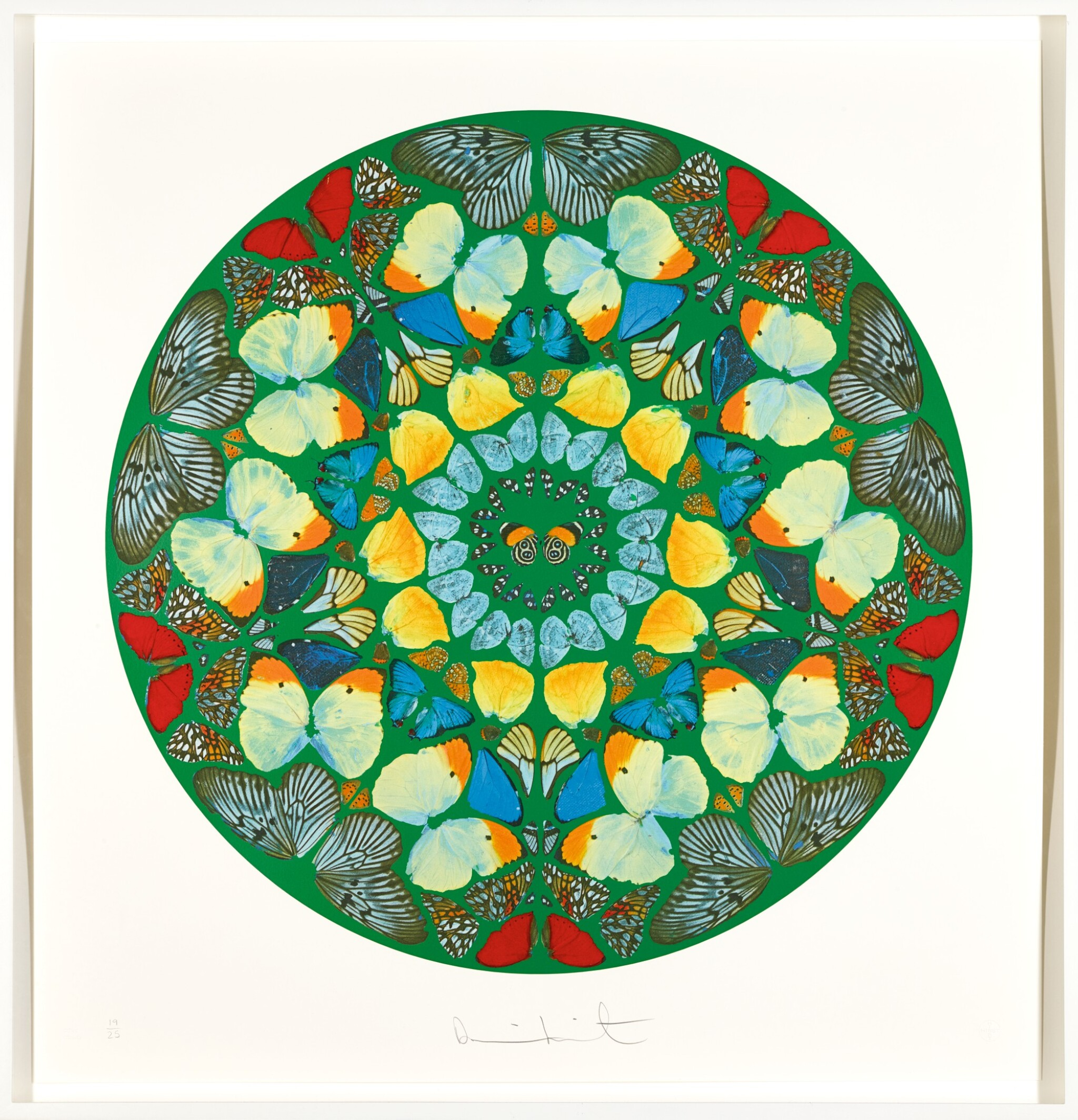 View full screen - View 1 of Lot 26. DAMIEN HIRST | PSALM PRINT: USQUE QUO, DOMINE?.