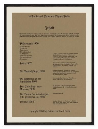 View 16. Thumbnail of Lot 75. '. . . Höhere Wesen befehlen' (Higher Beings Ordain).
