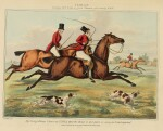 ALKEN, HENRY, AND GEORGE ALKIN   A Group of Seven Titles Related to Hunting and Satirical Representations of Sport