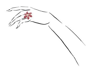 View 4. Thumbnail of Lot 21. MICHELE DELLA VALLE | ORANGE SAPPHIRE AND DIAMOND RING.