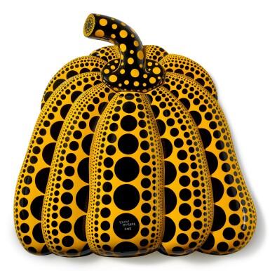 View 1. Thumbnail of Lot 1136. Yayoi Kusama 草間彌生   I Carry on Living with the Pumpkins 我繼續與南瓜相伴生活.