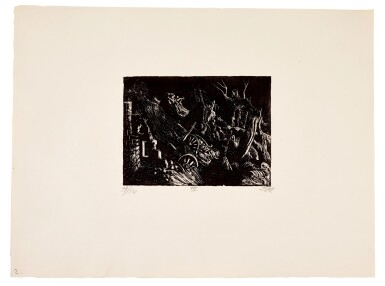View 18. Thumbnail of Lot 19. Der Krieg (K. 70 - 119).