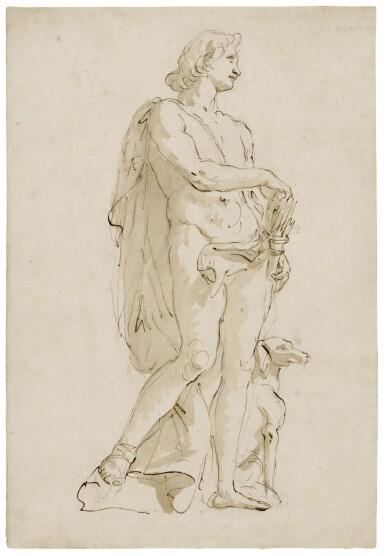 Meleager and his dog