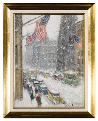 View 2. Thumbnail of Lot 17. Flags Up Fifth Avenue.
