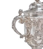 A GEORGE II SILVER CUP AND COVER, THOMAS FARREN, LONDON, 1742