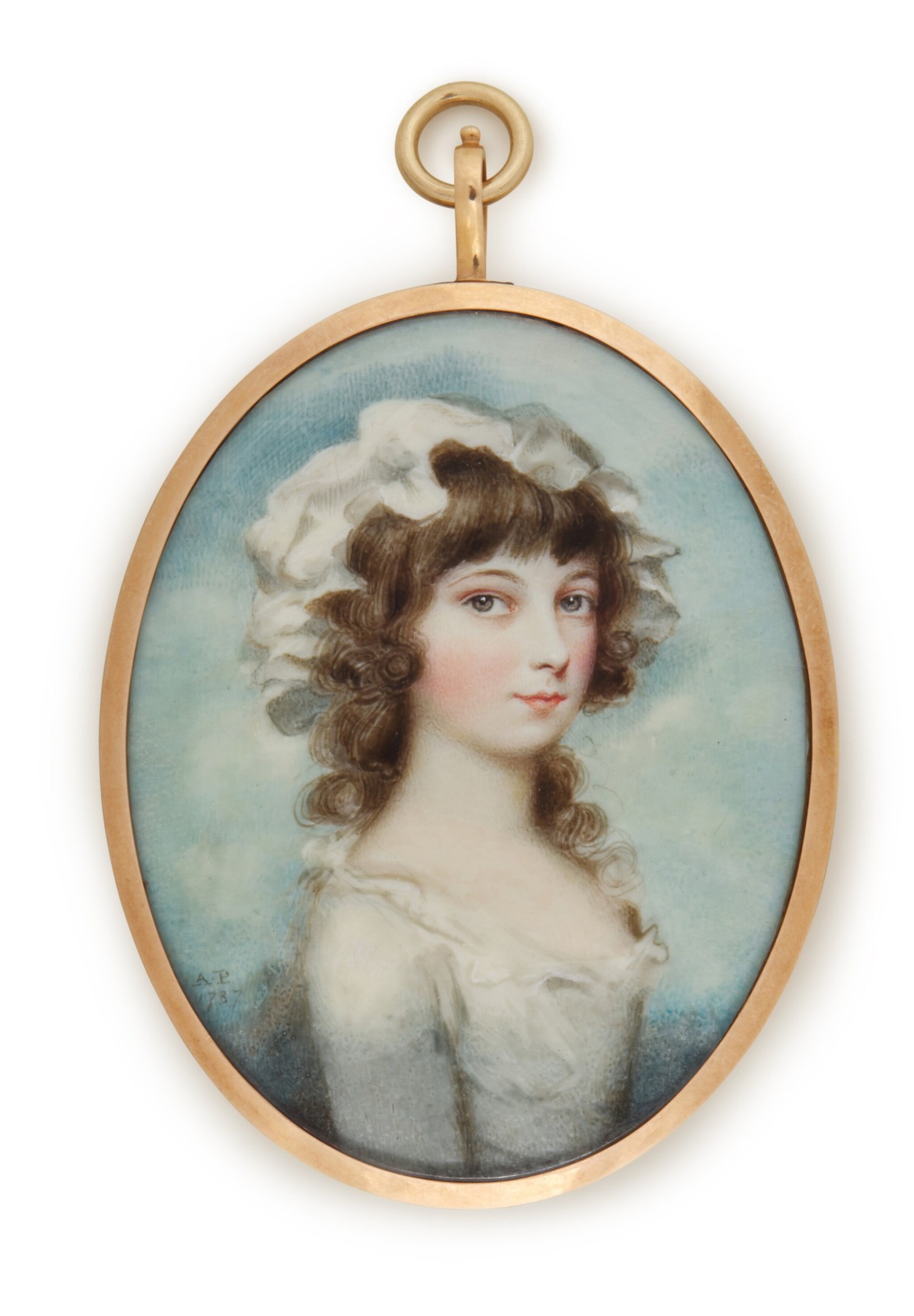 View 1 of Lot 119. Portrait of a lady.