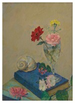 HERMAN ROSE | FLOWERS AND SEASHELL
