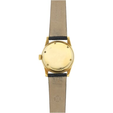 View 5. Thumbnail of Lot 3. REFERENCE 2483 A YELLOW GOLD CENTER SECONDS WRISTWATCH, MADE IN 1950.