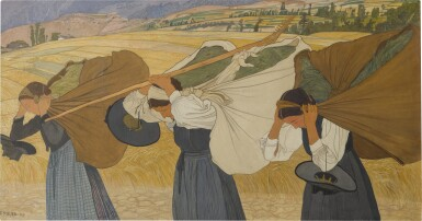 View 1. Thumbnail of Lot 18. Les fardeaux, 1909.