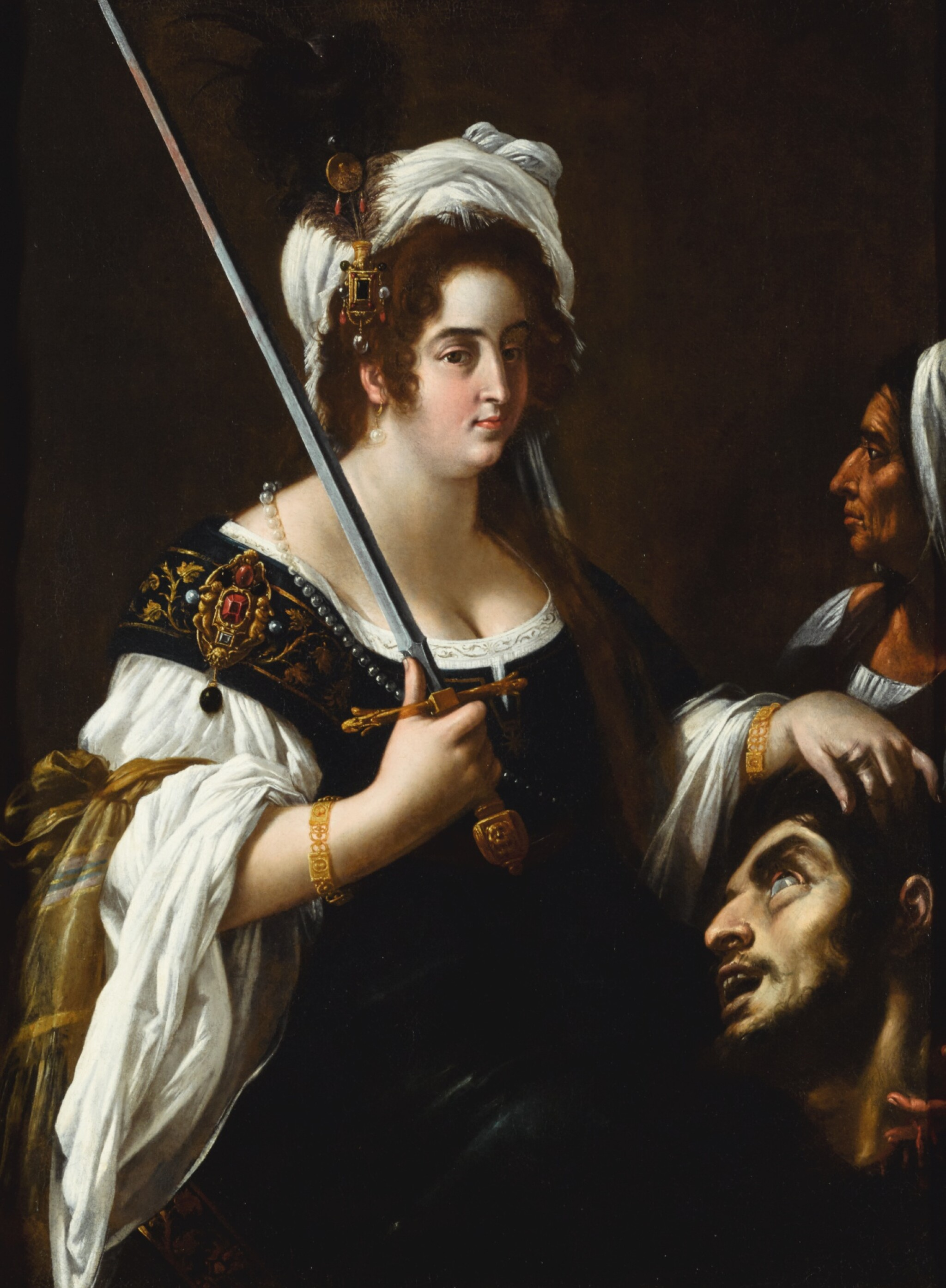 GIOVANNI BAGLIONE | Judith with the head of Holofernes
