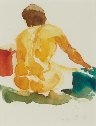 View 1. Thumbnail of Lot 548.  ERIC FISCHL | UNTITLED (NUDE).