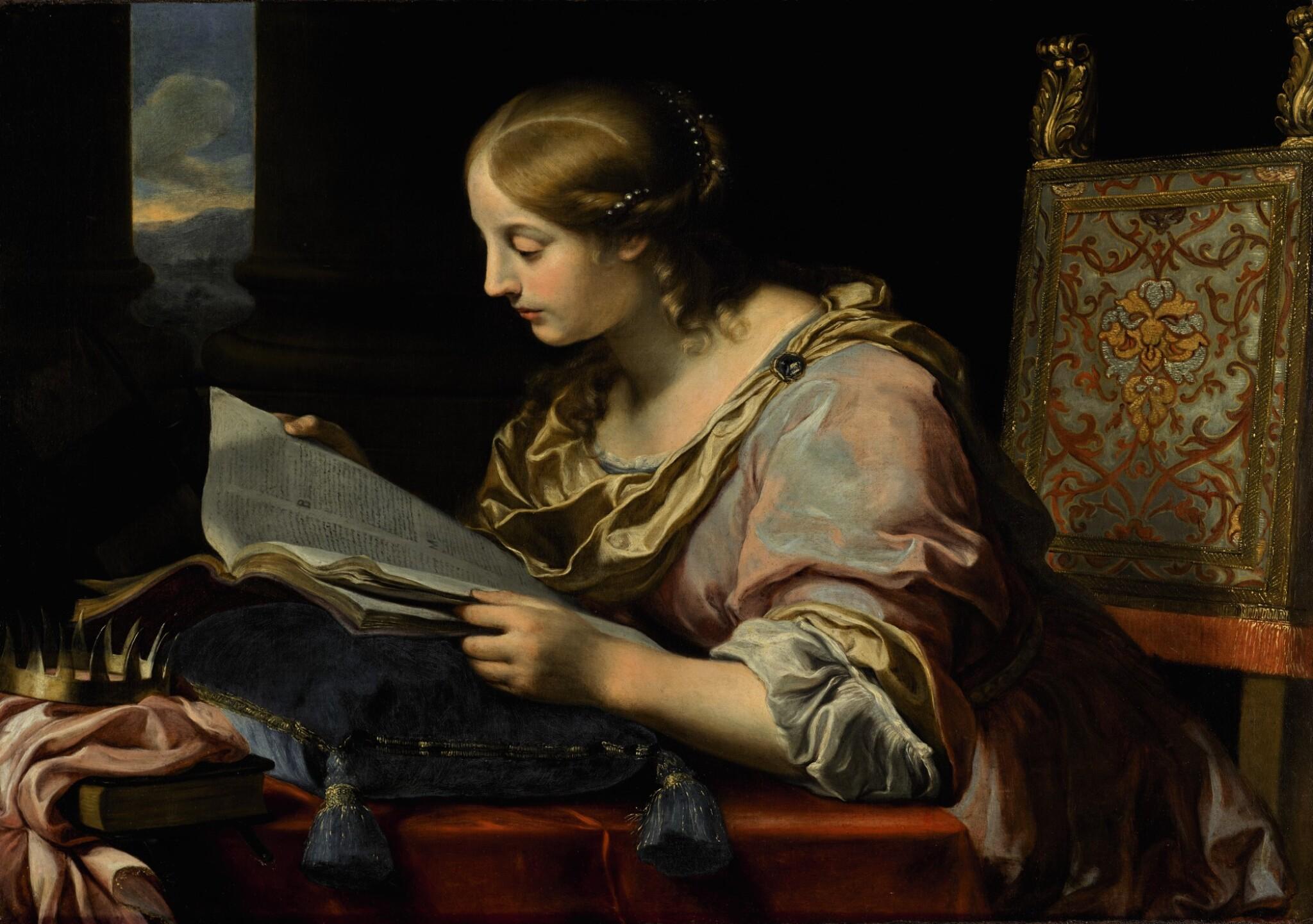 View full screen - View 1 of Lot 14. Saint Catherine of Alexandria |《亞歷山大的聖凱瑟琳》.