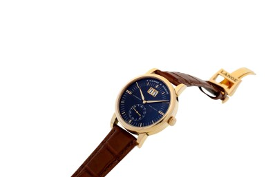View 7. Thumbnail of Lot 303. A. LANGE & SÖHNE   REFERENCE 309.031 GRAND LANGEMATIK  A PINK GOLD AUTOMATIC WRISTWATCH WITH DATE, CIRCA 2005.