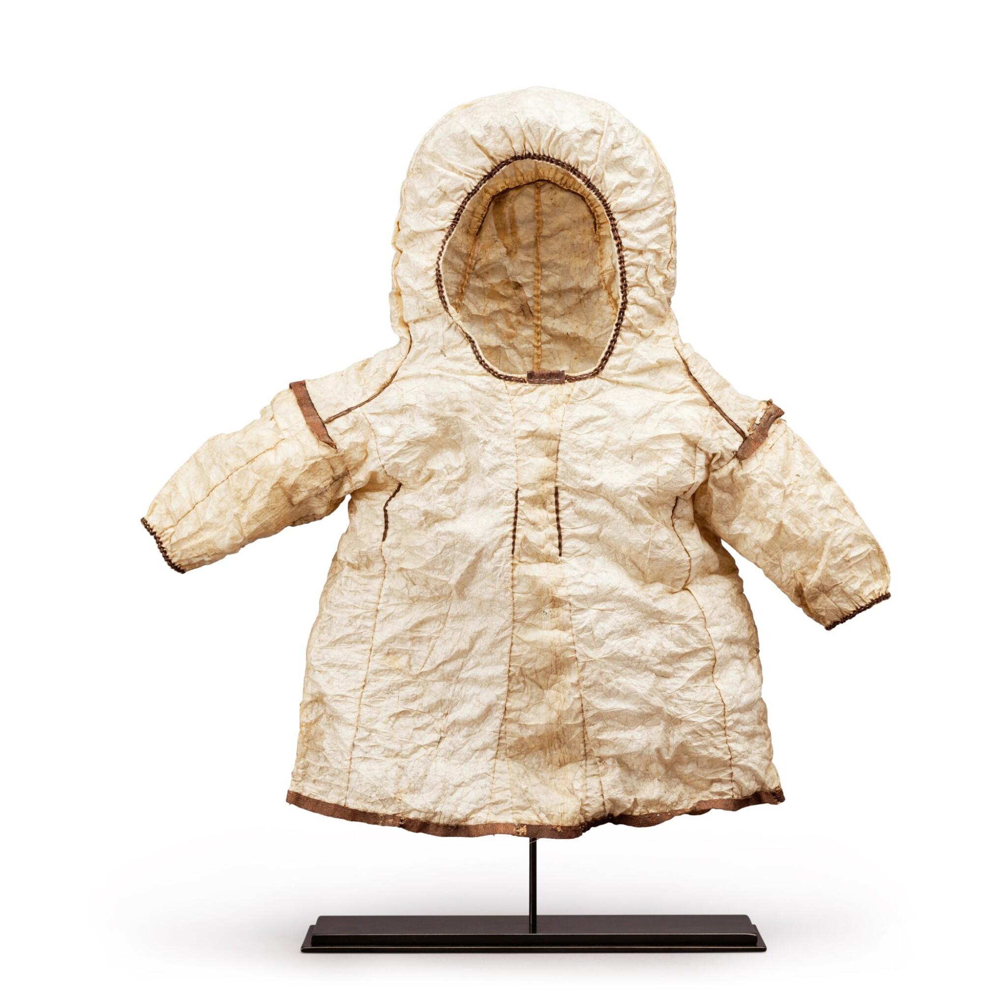 View full screen - View 1 of Lot 149. Alaska, circa 1900   Inuit Child's Parka jacket.