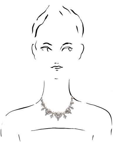 View 4. Thumbnail of Lot 1238. Diamond necklace/tiara, circa 1880.