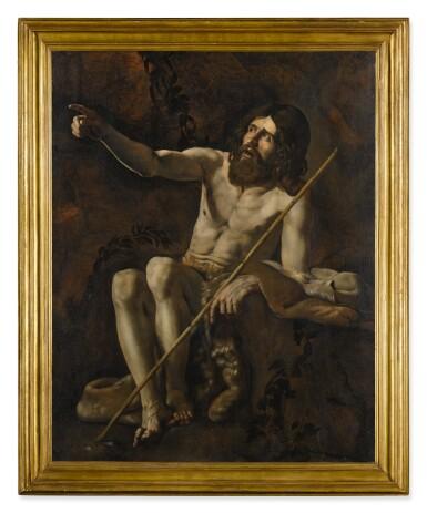 View 2. Thumbnail of Lot 19. GIOVANNI BATTISTA CARACCIOLO, CALLED BATTISTELLO   SAINT JOHN THE BAPTIST IN THE WILDERNESS.
