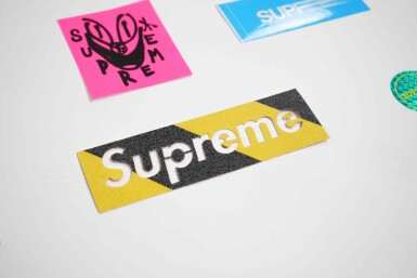 View 3. Thumbnail of Lot 143. SUPREME STICKERS [29 PIECES].