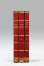 BALZAC. Les Cent contes drolatiques. 1832-1833. 3 vol. Rare édition originale en reliure de l'époque.