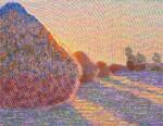 Meules after Claude Monet