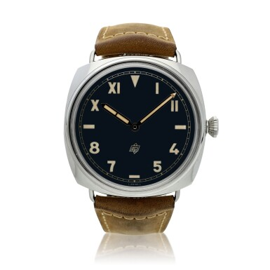 View 1. Thumbnail of Lot 108. Reference PAM00424 Radiomir California   A stainless steel wristwatch, Circa 2016.