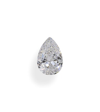 A 1.15 Carat Pear-Shaped Diamond, D Color, Internally Flawless