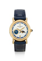 PATEK PHILIPPE | REFERENCE 4857, A YELLOW GOLD AND DIAMOND-SET WRISTWATCH WTIH MOON PHASES, MADE IN 1999