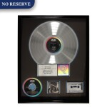 "RIAA Platinum sales award presented to Mike Diamond for the Beastie Boys 1989 album ""Paul's Boutique"""