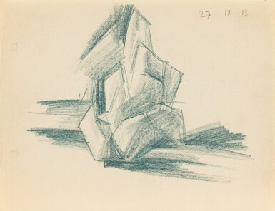 View 1. Thumbnail of Lot 7. LYONEL FEININGER | BAUM IM PARK (WEIMAR) (TREE IN THE PARK (WEIMAR)).