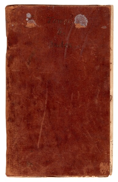 View 3. Thumbnail of Lot 30. BONNEY | Manuscript history of the Tower of London, 1 volume, c.1794.