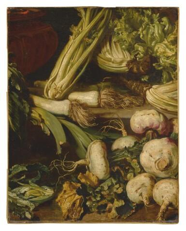 GIUSEPPE ANTONIO PIANCA | STILL LIFE OF VEGETABLES