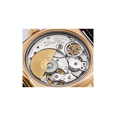 View 3. Thumbnail of Lot 966. PATEK PHILIPPE | REF 5013, A PINK GOLD MINUTE REPEATING PERPETUAL CALENDAR WRISTWATCH WITH RETROGRADE DATE MOON PHASES AND LEAP YEAR INDICATION MADE IN 2000 | 百達翡麗 | 5013型號粉紅金三問萬年曆腕錶備逆跳日期、月相及閏年顯示,2000年製.
