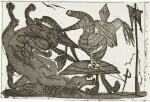 PABLO PICASSO   FROM SUEÑO Y MENTIRA DE FRANCO (PLANCHE II) (B. 298; BA. 616)