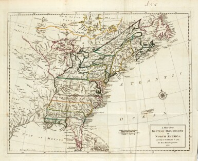 The history of the British Dominions in North America, 1773