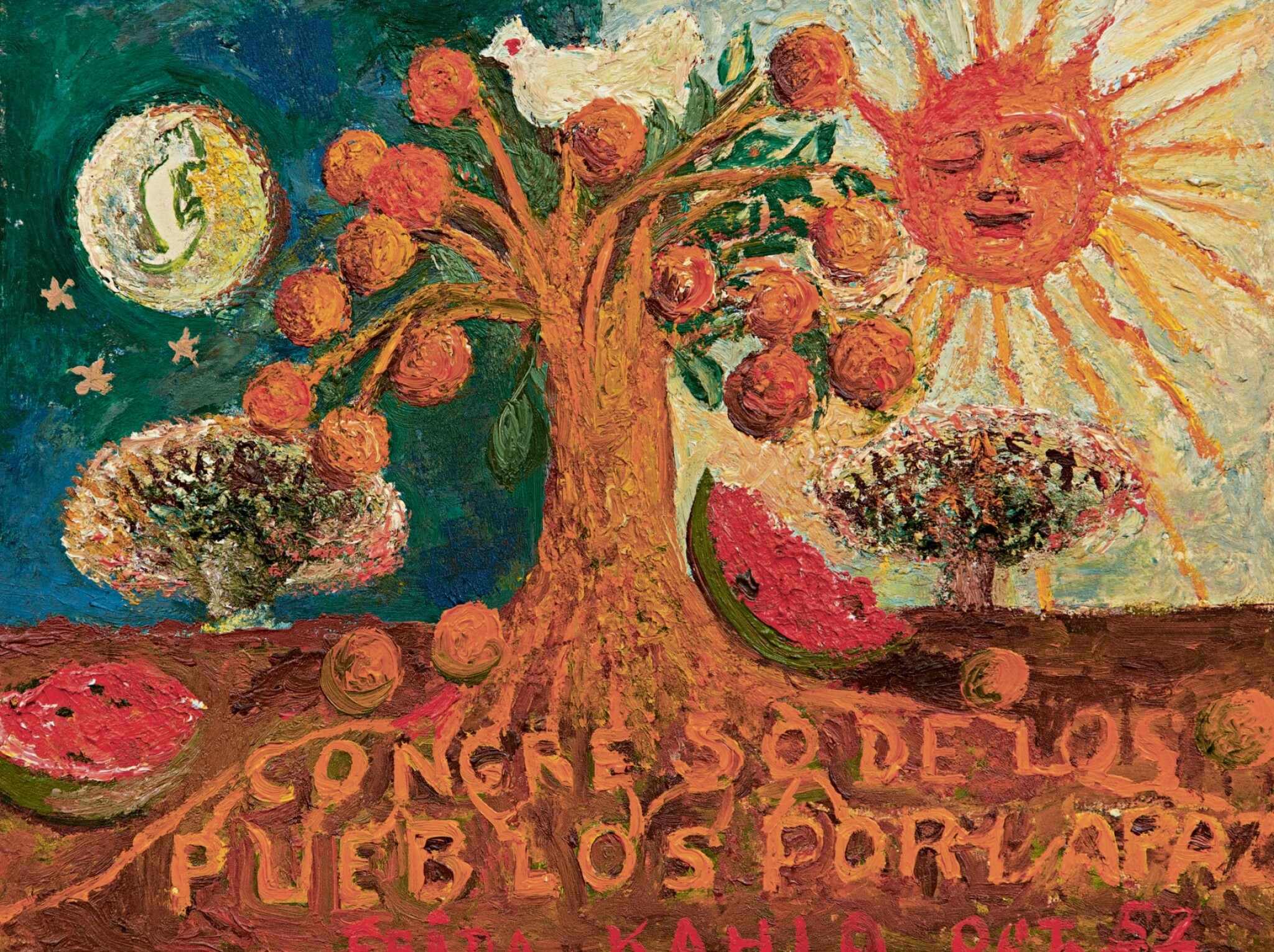 View full screen - View 1 of Lot 1006. FRIDA KAHLO | CONGRESO DE LOS PUEBLOS POR LA PAZ.