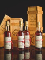 THE MACALLAN RED RIBBON 41 YEAR OLD 43.0 ABV 1940