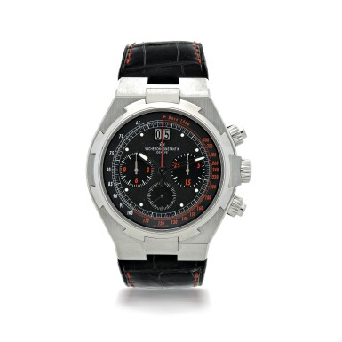REFERENCE 49150 OVERSEAS A SPECIAL U.S EDITION STAINLESS STEEL AUTOMATIC CHRONOGRAPH WRISTWATCH WITH DATE, CIRCA 2008