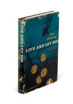 FLEMING | Live and Let Die, 1955, first American edition