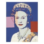 ANDY WARHOL | QUEEN ELIZABETH II OF THE UNITED KINGDOM (F. & S. II.334 - 337)