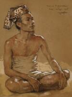 Boer uit Batoeboelan (Farmer from Batubulan) | 來自巴圖布蘭的農民