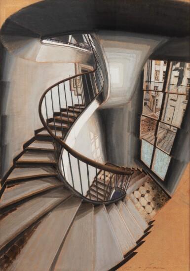 View 2. Thumbnail of Lot 112. L'Escalier rue de Seine.