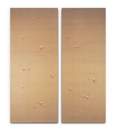 View 2. Thumbnail of Lot 151. Waterdrops (diptych)      .