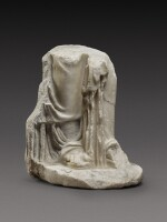 A Fragmentary Roman Marble Figure of a Woman or Goddess, circa 2nd Century A.D.