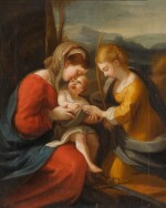 AFTER ANTONIO ALLEGRI, CALLED CORREGGIO | THE MYSTIC MARRIAGE OF SAINT CATHERINE