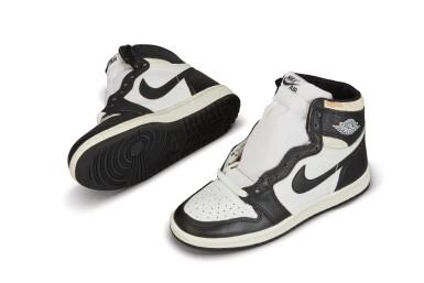 View 3. Thumbnail of Lot 11. Nike Air Jordan 1 High OG (1985) 'Black & White'  Size 8.5.