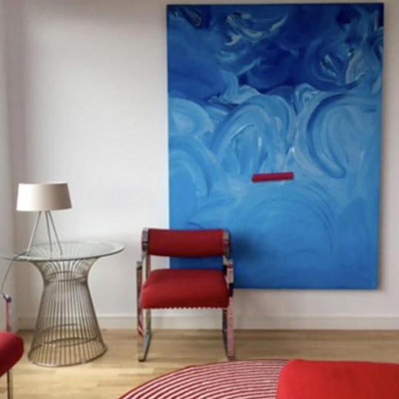 Untitled, Blue Field