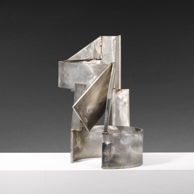 View 2. Thumbnail of Lot 655. SIR ANTHONY CARO, R.A. | STAINLESS PIECE A-G.
