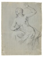 Recto: The Death of Lucretia Verso: A compositional study with two figures