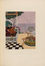 CARRÉ – TOUSSAINT. Le Jardin des caresses. 1914. Ex. sur Japon impérial. Rel. arabisante de Levitzky